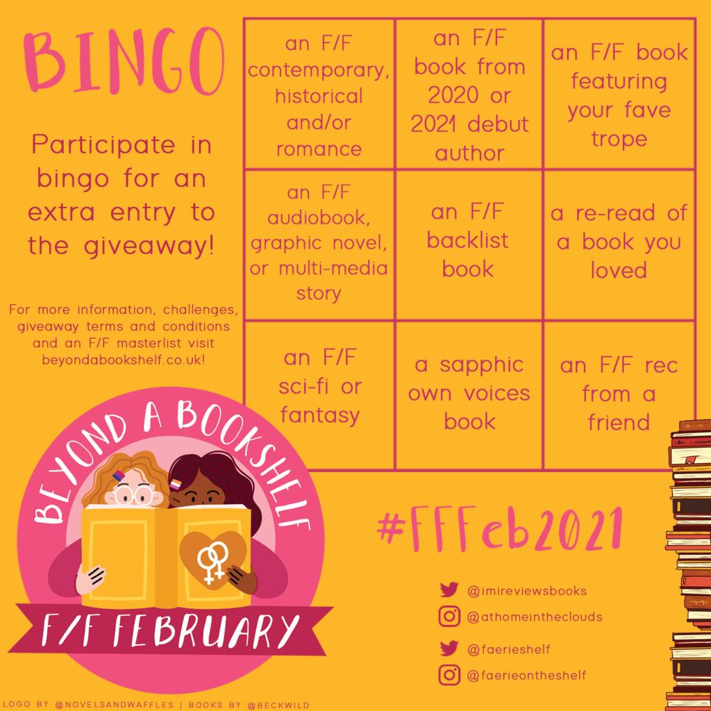 F/F February bingo challenge